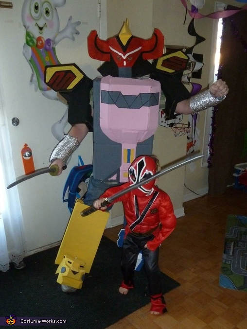 Megazord Costume