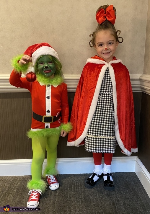 Mr.Grinch & Cindy Lou Who Costume