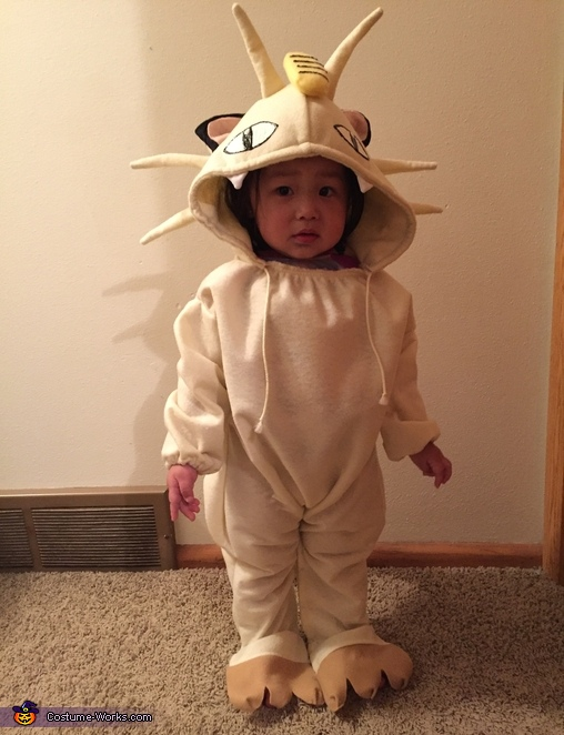 Pokemon Meowth Costume