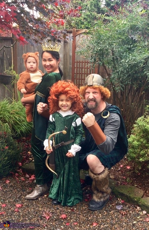 Merida's Family from Brave Costume