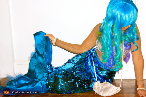Creative Homemade Mermaid Costume