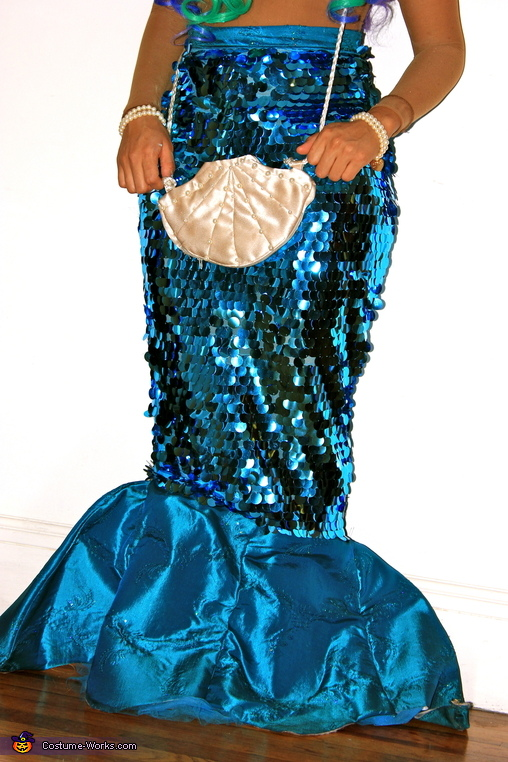 Creative Homemade Mermaid Costume