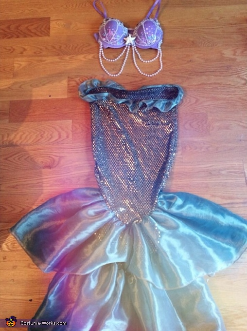 DIY Mermaid Costume for Women