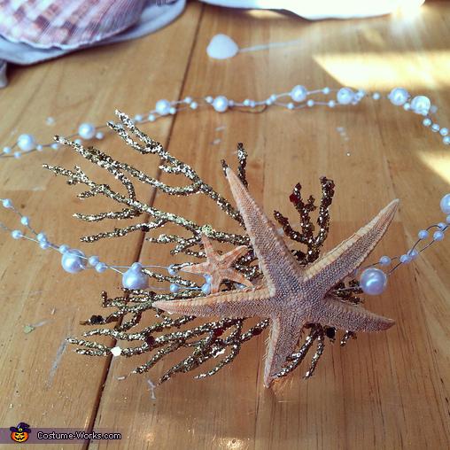 Crown, Mermaid Costume