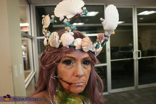 Mermaid and Fisherman Homemade Costume