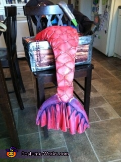 Riley the Mermaid, Captured by a Pirate! - Homemade costumes for girls