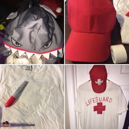 Lifeguard costume making, Mermaid, Lifeguard & Shark Costume