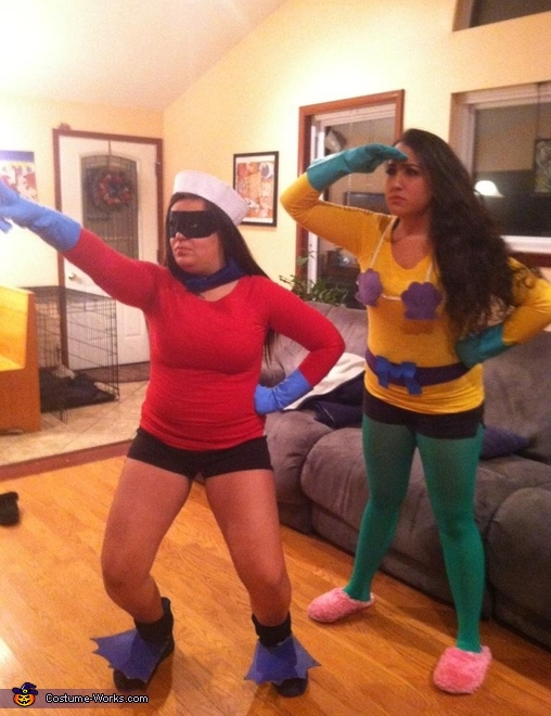 Mermaid Man and Barnacle Boy Costumes