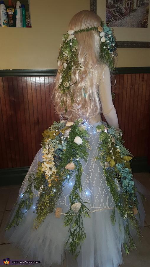 Mermaid on a Rock Homemade Costume