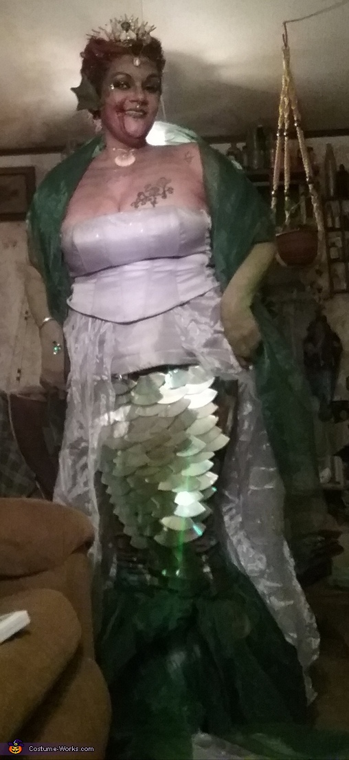 Mermaid Queen Homemade Costume