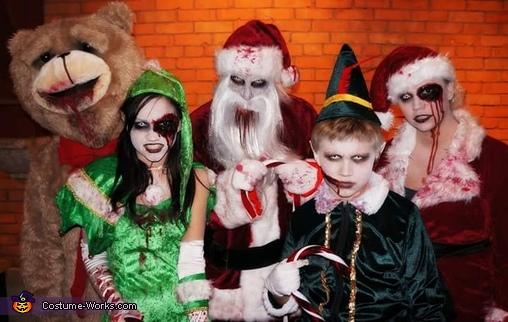 Merry Halloweenmas Family Costume