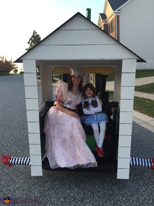 Dorothy and Glinda hanging out in Dorothy's house, Merry Old Fans of Oz Costume