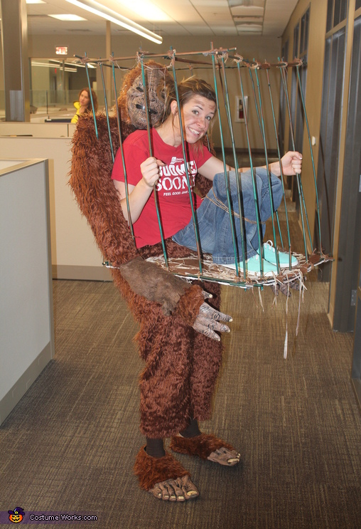 Messing with Sasquatch Costume