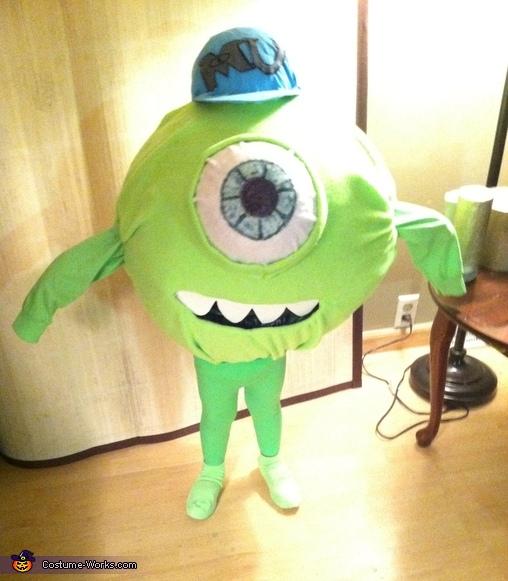 Michael Wazowski Costume