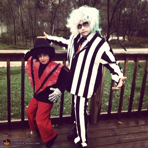 Michael Jackson and Beetlejuice Costume