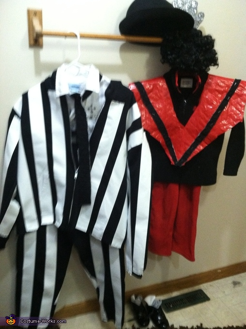 Michael Jackson and Beetlejuice Costume