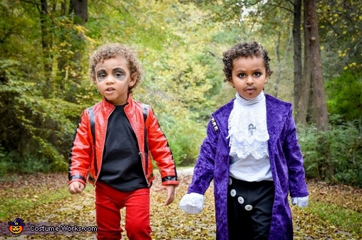 Michael Jackson and Prince Costume