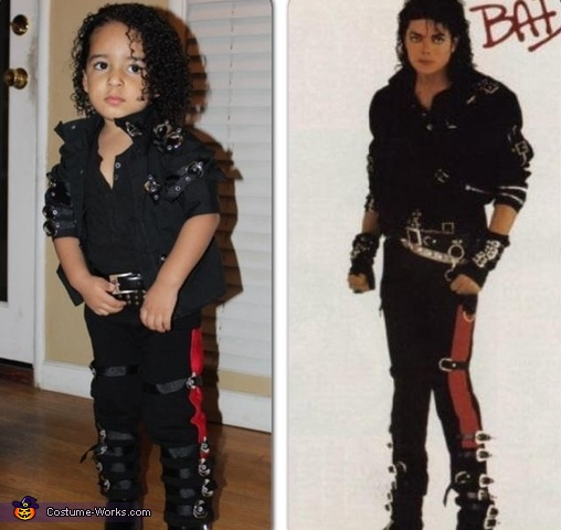 Noah and Michael Jackson , Michael Jackson Bad Costume
