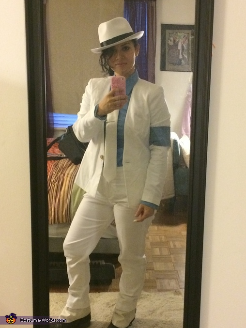 The entire outfit, Michael Jackson Smooth Criminal Costume