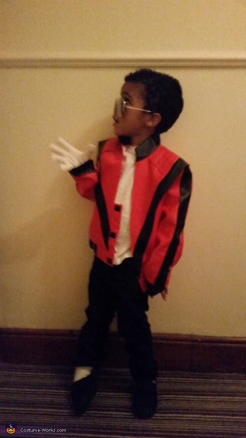 CJ as MJ, Michael Jackson Thriller Costume