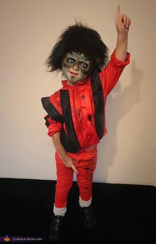 Michael Jackson Thriller Homemade Costume  sc 1 st  Costume Works & Michael Jackson Thriller Costume - Photo 2/3
