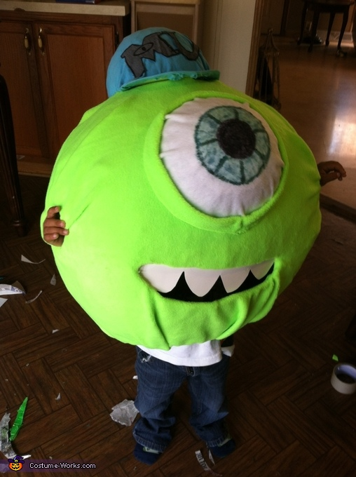Michael Wazowski Homemade Costume