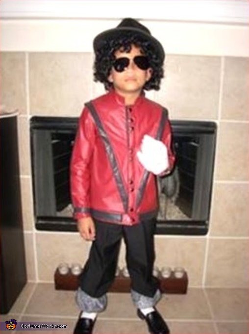 Michael Jackson - Homemade costumes for boys