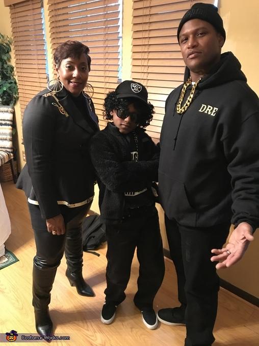 Miche'le, Dr. Dre, and Eazy-E Costume