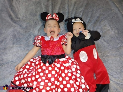 Mickey and Mini Costume