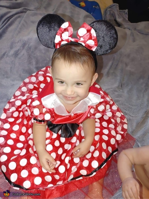 Oh so cute - Mini Mouse, Mickey and Mini Costume