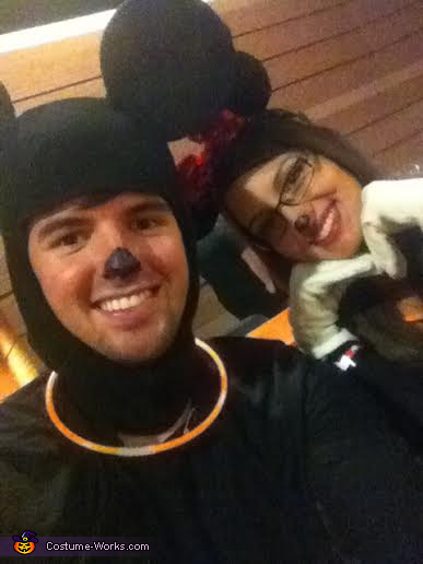 Us, Mickey and Minnie Costume