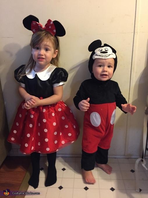 Mickey and Minnie Kids Costume