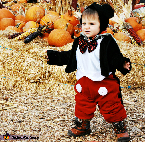 Mickey at the Pumpkin Patch Baby Costume