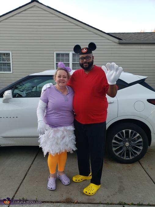 Mickey, Minnie, Daisy, Goofy, Pluto, Donald Homemade Costume