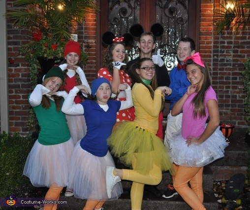 Mickey Mouse Clubhouse Group Costume
