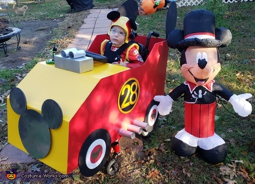 Mickey Mouse Roadster Costume