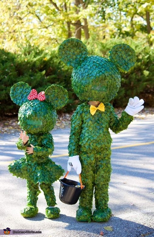 Mickey & Minnie Topiary Costume