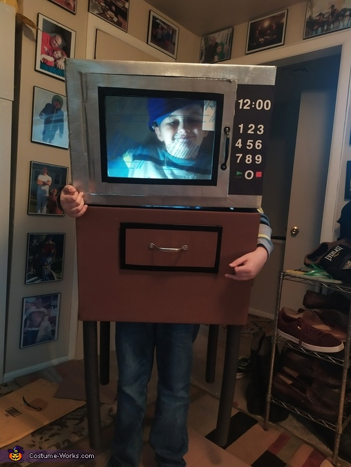 Microwave Oven Costume