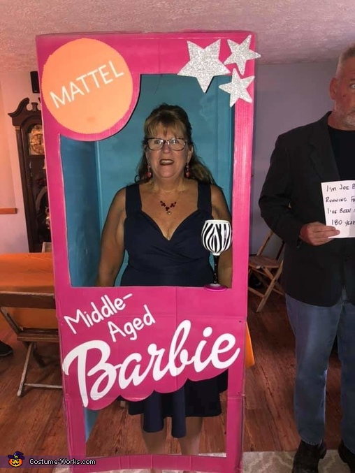 Middle-Aged Barbie Costume