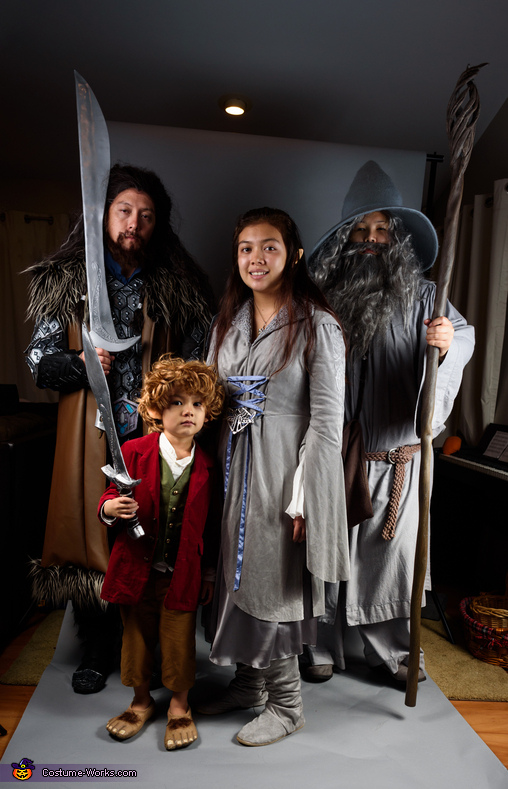 Middle Earth Family Costume