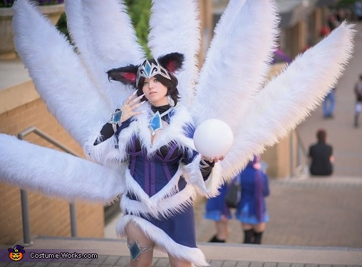 Midnight Ahri Costume