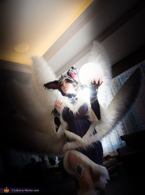 League of Legends Midnight Ahri Costume