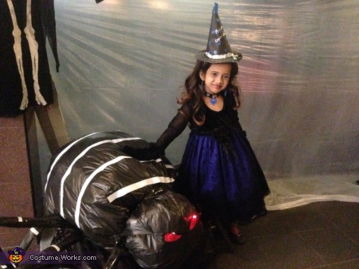 Midnight Crystal Witch Costume