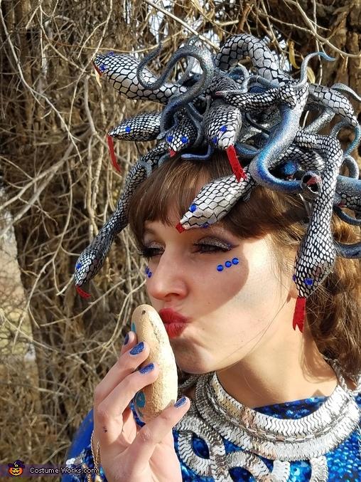 Midnight Medusa Homemade Costume