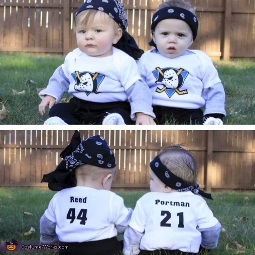 Mighty Ducks Baby Bash Brothers Costume
