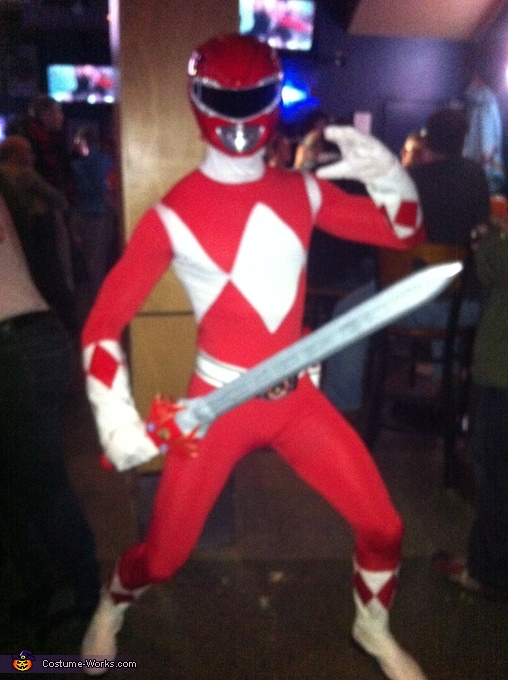 Tyrannosaurus!, Red Mighty Morphin Power Ranger Costume