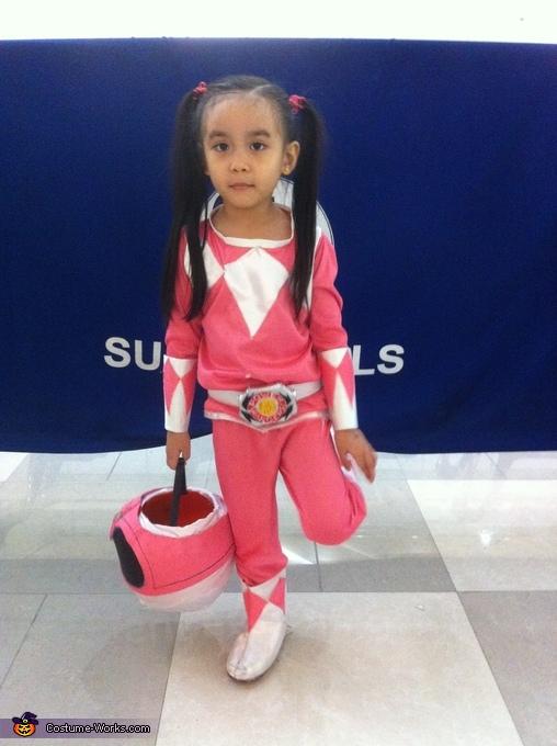 Mighty Morphin Power Rangers Homemade Costume