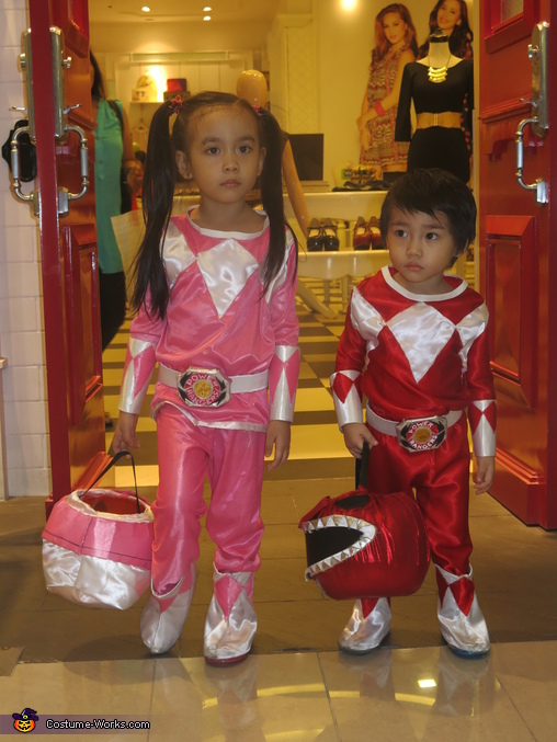 Mighty Morphin Power Rangers Costume