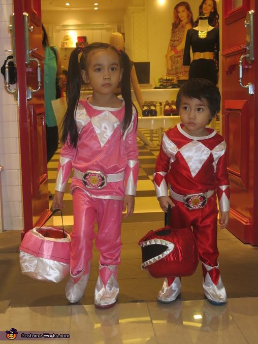 Mighty Morphin Power Rangers Costume