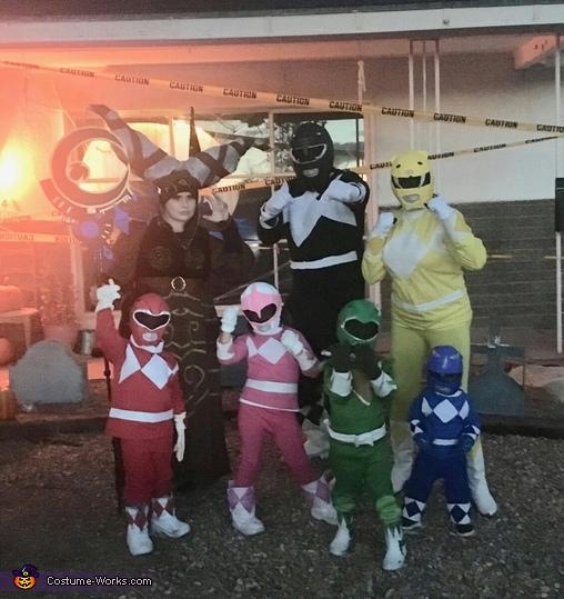 Mighty Morphin Power Rangers and Evil Rita Repulsa Costume